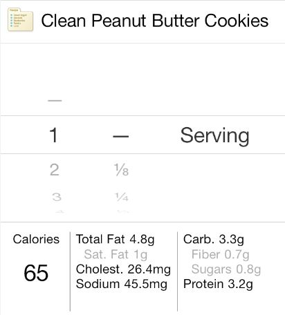cleancookiesnutrition